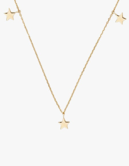 Star Bright Necklace - Gold Plated