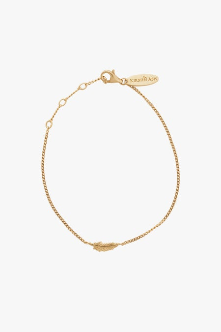 Feather Bracelet - Gold Plated