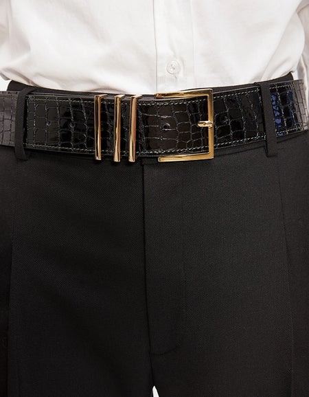 Andrea Belt - Black Croco