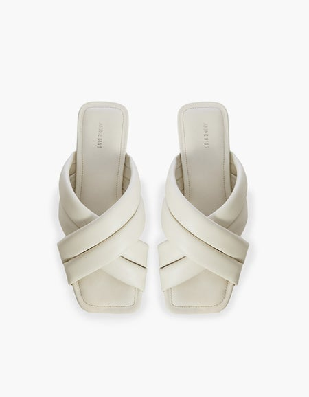 Eve Sandals - Ivory