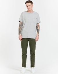Mens Est. Tapered Drill Pant - Military