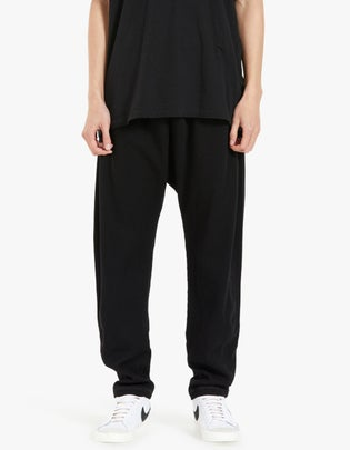 Mens Waffle Slouch Jersey Pant