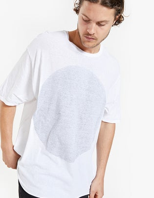 Mens Slouch Inside Out Dot Tshirt