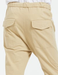 Bassike x Superette Double Jersey Track Pant - Tan