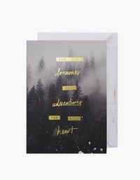 For The Dreamers Card - Print