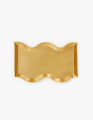 Wave Candle Tray