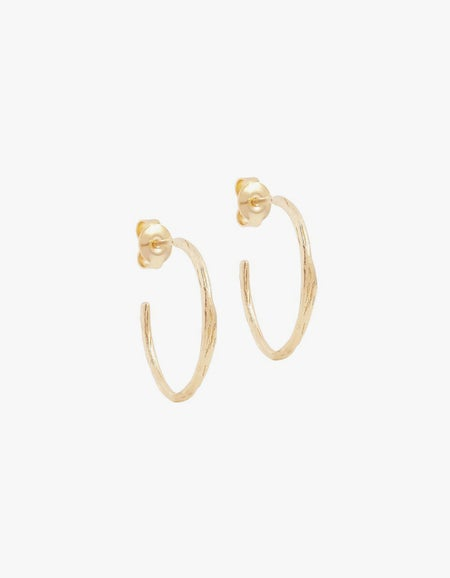Devotion Hoops - Gold Plated