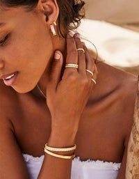 Dream Weaver Ring - Gold Plated