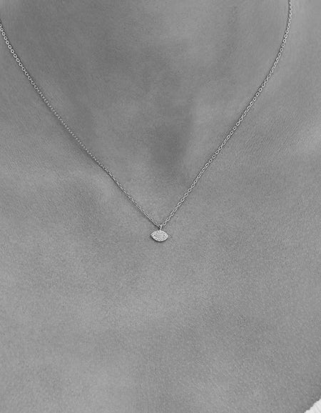 Eye Of Protection Necklace - Silver