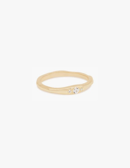 I Am Light Ring - Gold Plated