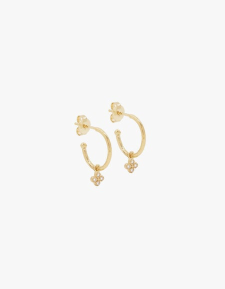 Luminous Hoops - Gold Plated