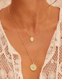Path Of Life Necklace - Gold Plated