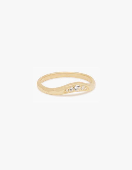 Path To Peace Ring - Gold Plated