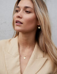 By Charlotte x Superette Reach For The Stars Hoops - Gold