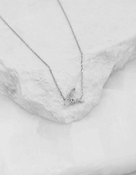 All You Need Necklace - Sterling Silver