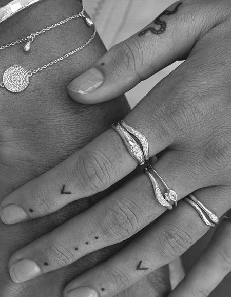 Path To Peace Ring - Sterling Silver