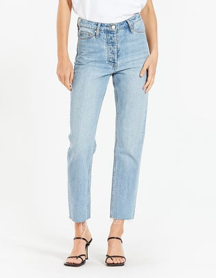 Margot Cropped Straight Leg Jean