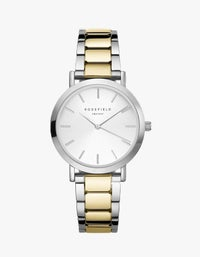 The Tribeca Watch - Silver/Gold Duo