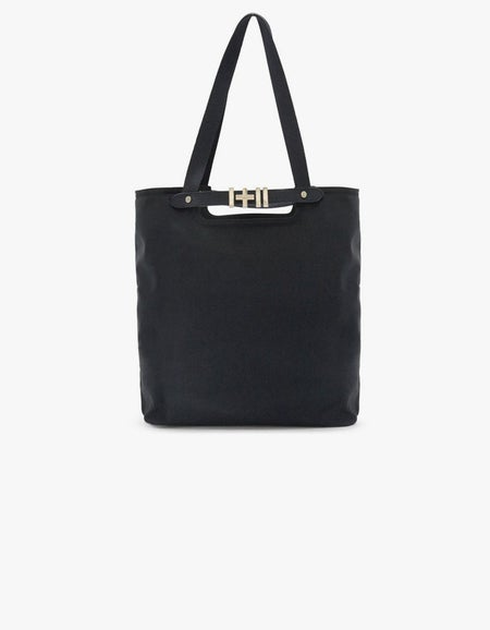 The Base Day Bag - Black/Light Gold