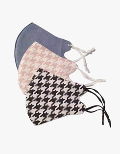 Face Mask Multi Pack - Houndstooth