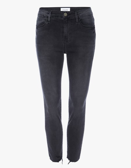 Le High Skinny Crop Raw Edge - Mardel Chew