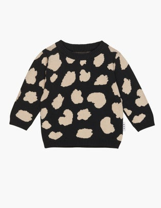 Animal Spot Knit Jumper