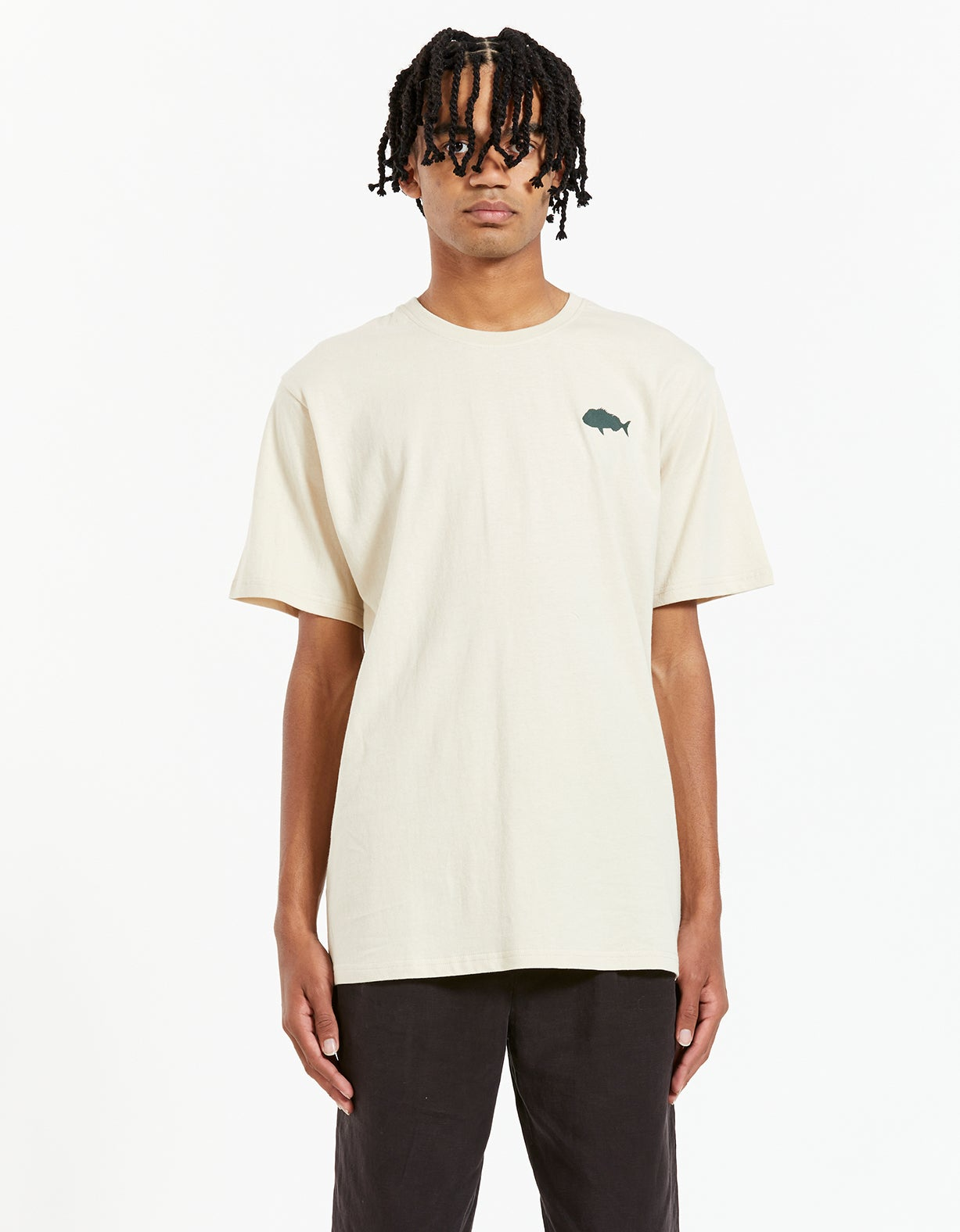 Snapper Stamp Tee - Stone