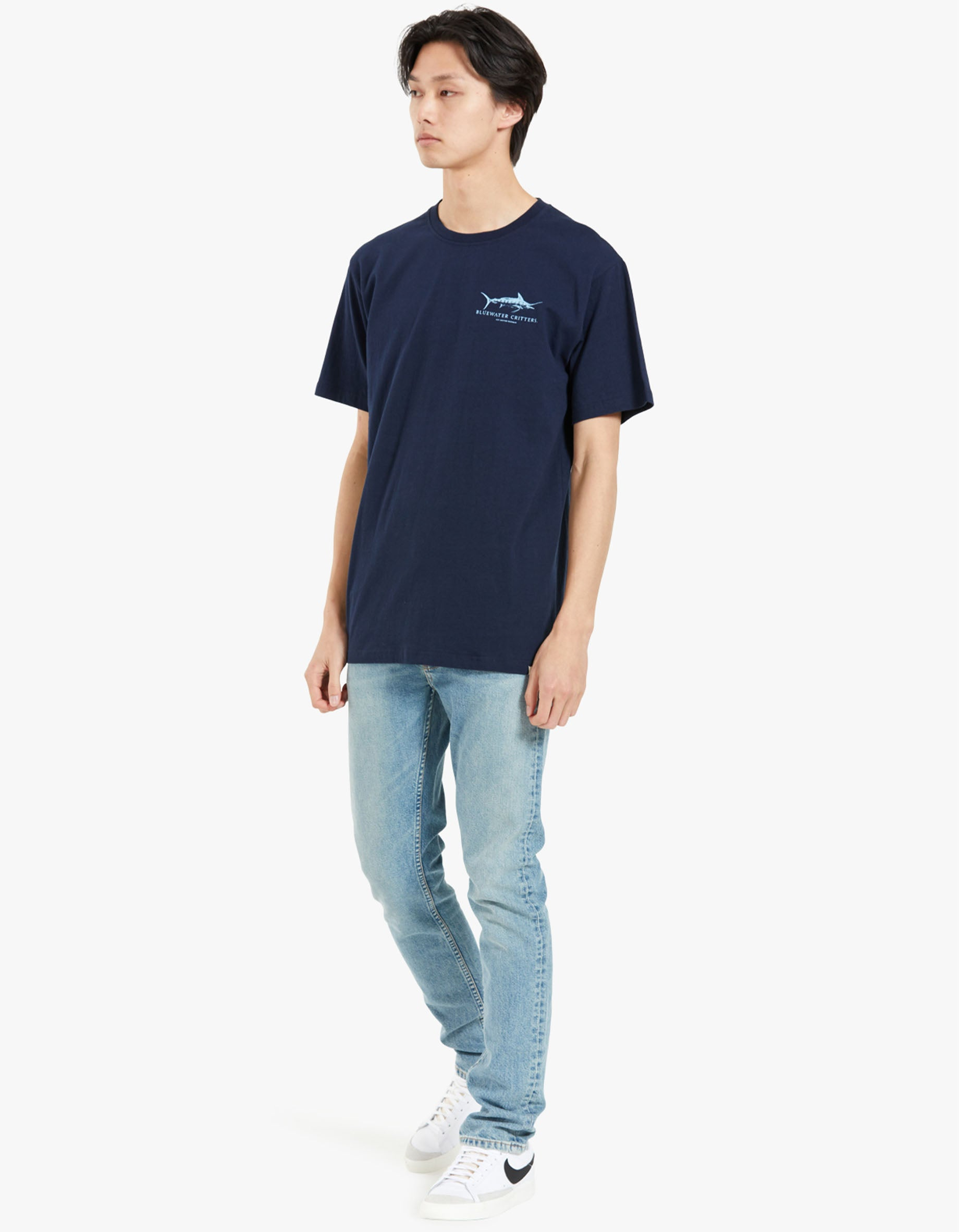 Bluewater Critters Tee - Navy