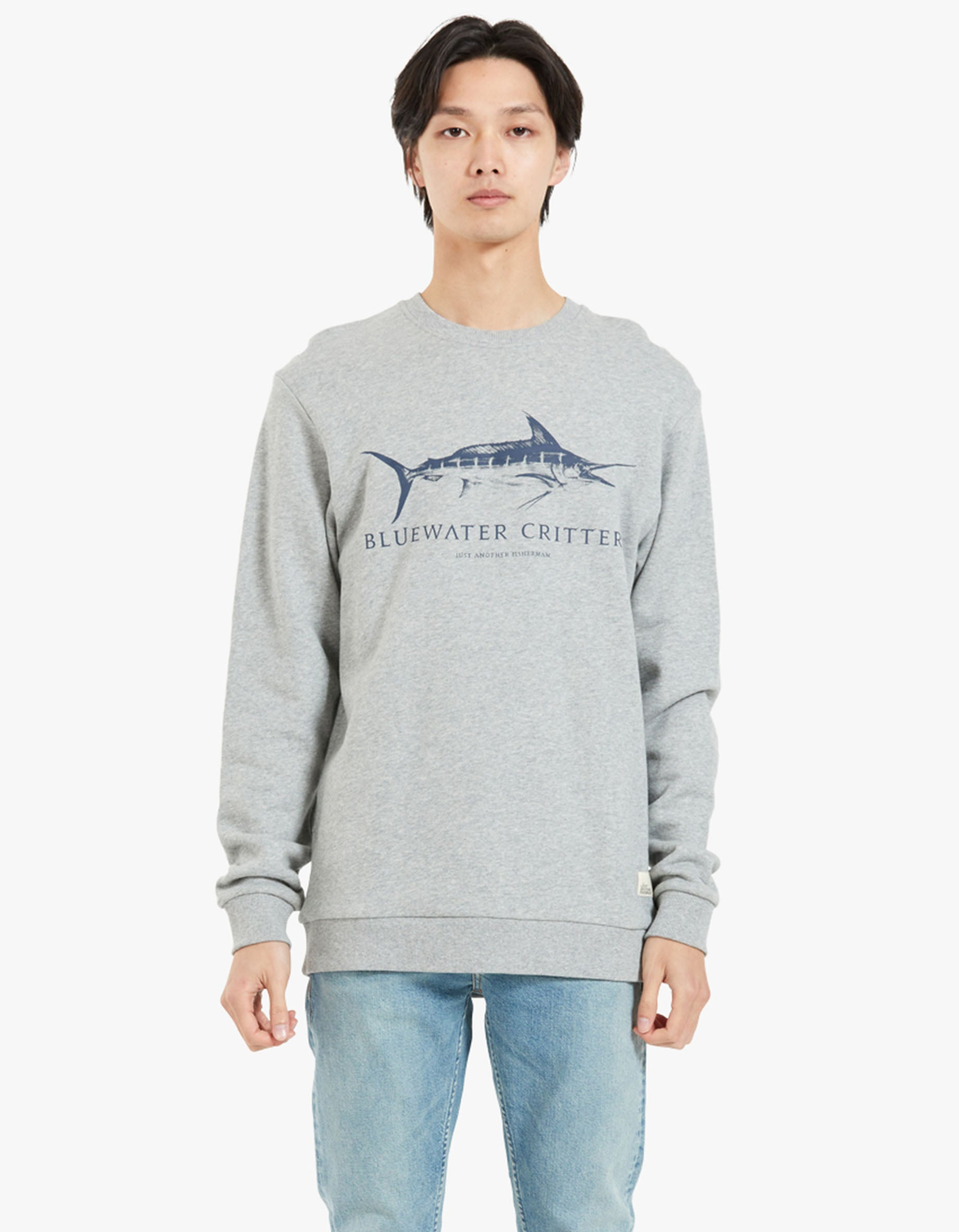 Bluewater Critters Crew - Grey Marle