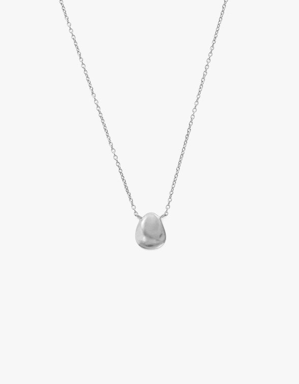 Molten Necklace - Sterling Silver