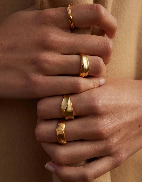 Embrace Ring - 18K Gold Plated