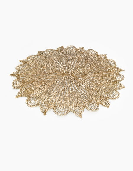 Mesh Placemat - Gold