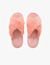 Womens Slippers - Blush Pink
