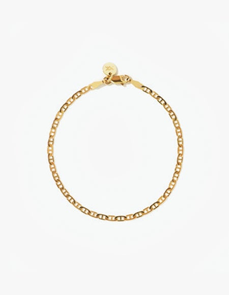 Anchor Chain Bracelet - Gold Plated