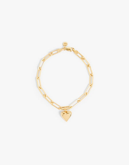 Meadowlark x Superette Camille Paperclip Bracelet - Gold Plated