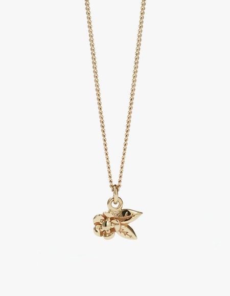 Alba Charm Necklace - Gold Plated