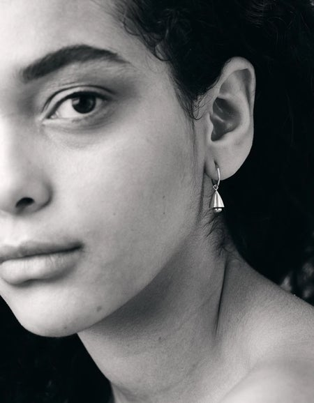 Bell Endless Hoops - Sterling Silver