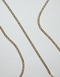 Anchor Chain Necklace - Sterling Silver