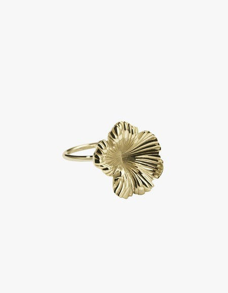 Coral Ring - Gold Plated