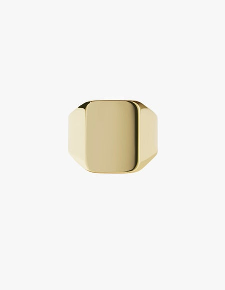 Fairfax Signet Ring - Sterling Silver