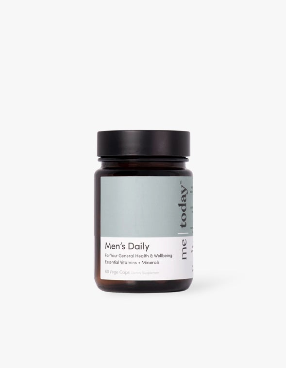 Mens Daily Supplement - Grey