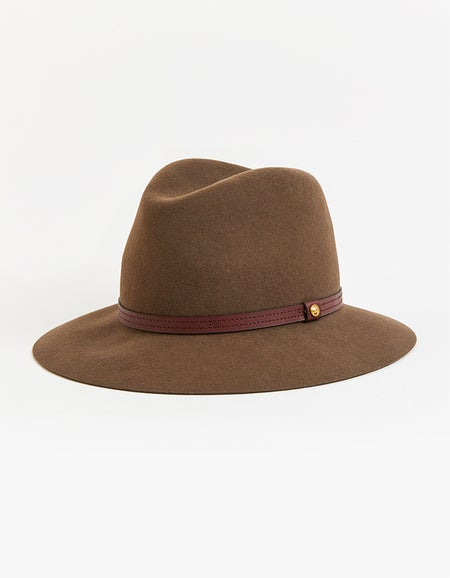 Floppy Brim Fedora - Black