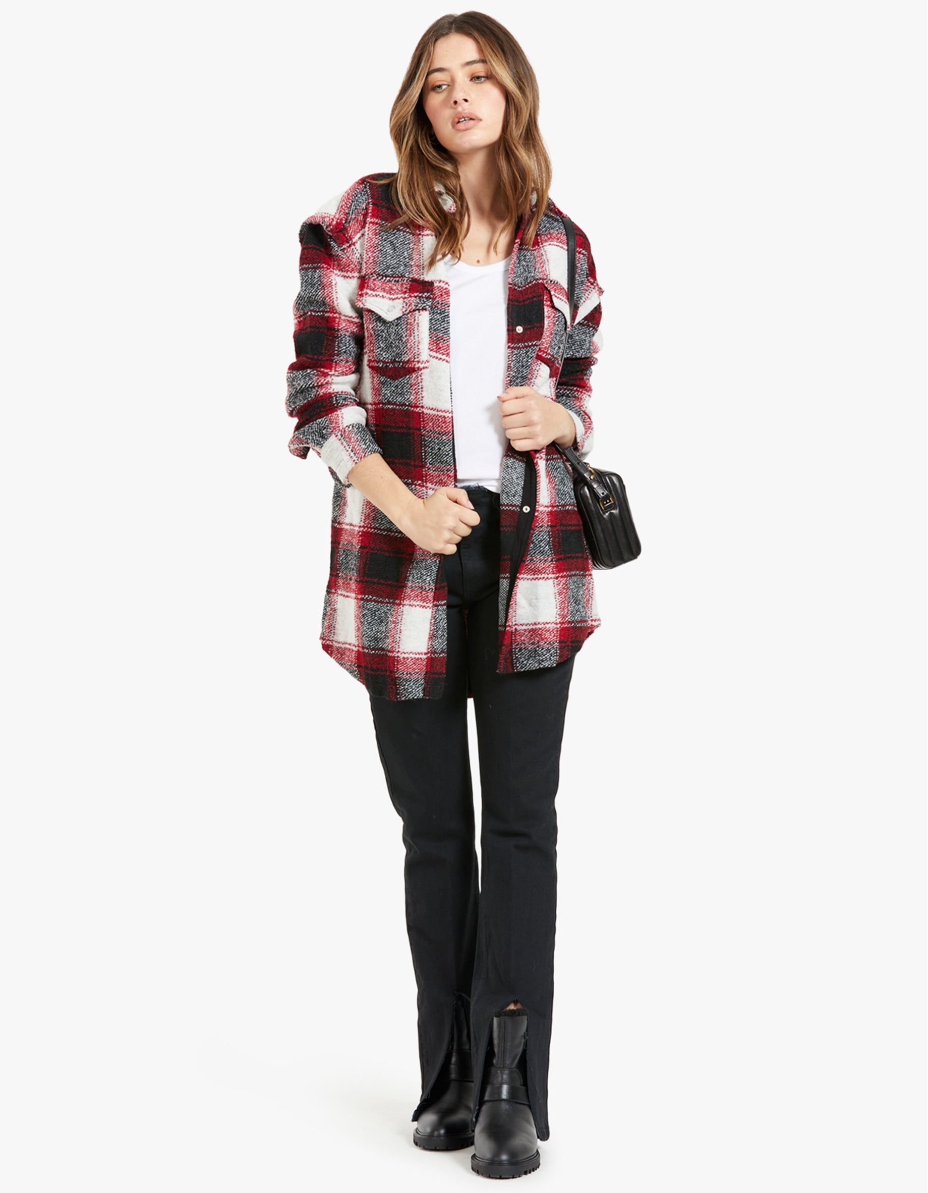 Bess Jacket - Red Check