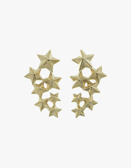 Seven Sister Earrings - Gold Plated