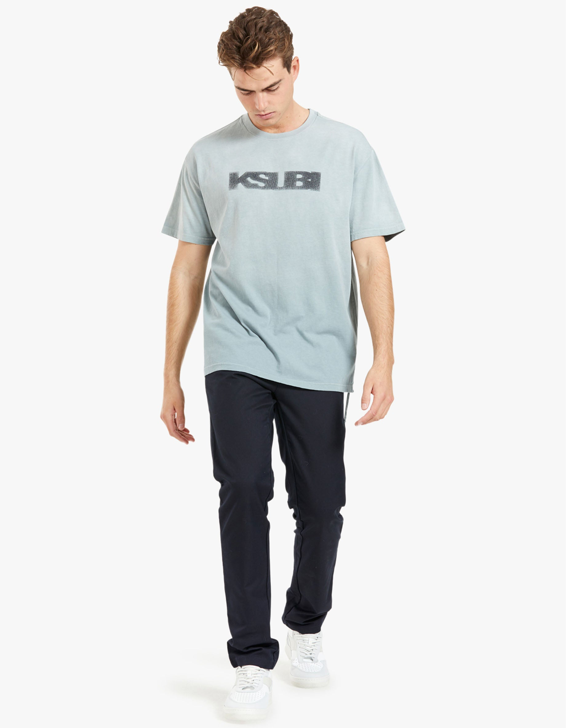 Sign of the Times Biggie SS Tee - Opal