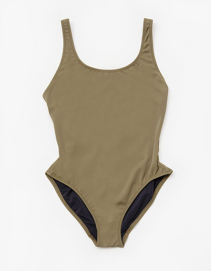 The Anne Marie Onepiece - Olive