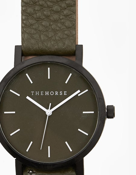 The Original Watch Gift Pack - Matte Black/Olive Leather/Black Leather