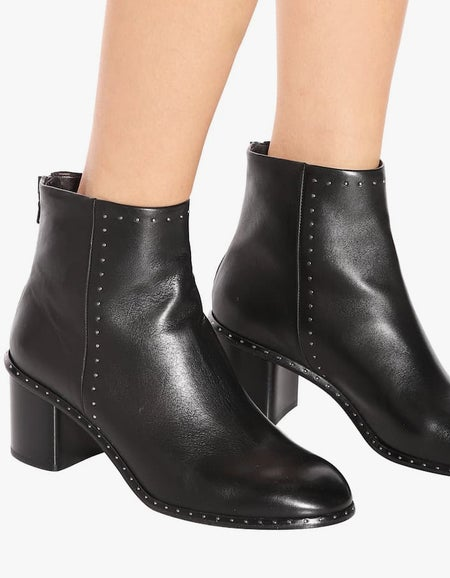 Willow Stud Boot - Black