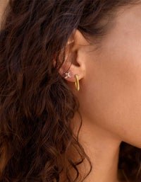 Isa Earrings - Gold Plated